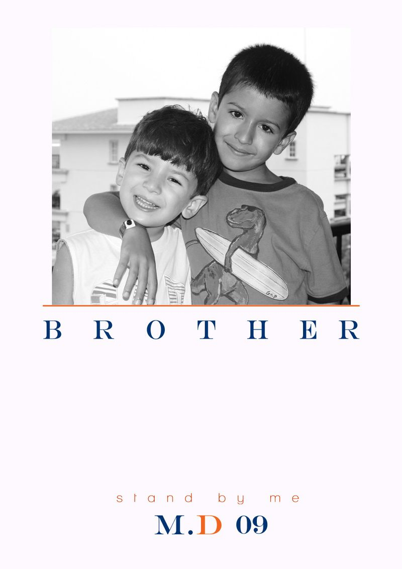Brothers white copy